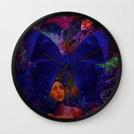 Birds of Prey KneeL and Pray Wall Clock