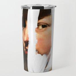Untitled (Finger Paint 2) Travel Mug