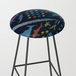 Scuba diving – Knitted ecosystem Bar Stool