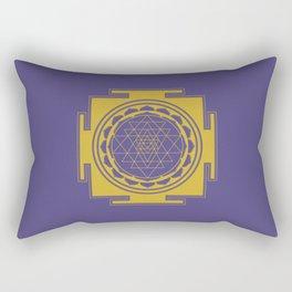 Sri Yantra Mandala Rectangular Pillow