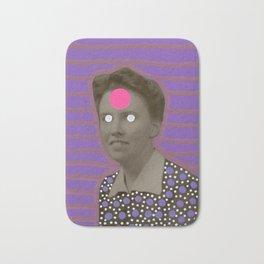 Alien Portrait Bath Mat