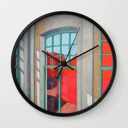 Abandoned room VIII Wall Clock