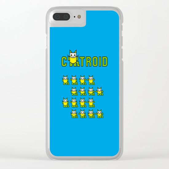 Catroid Clear iPhone Case