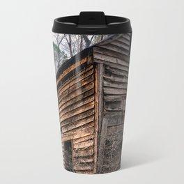 Abandoned Wood Cabin Travel Mug