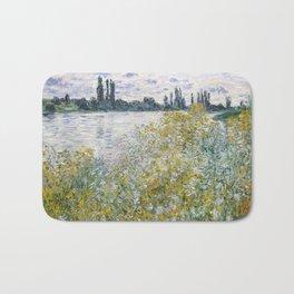 Claude Monet Île aux Fleurs near Vétheuil Bath Mat