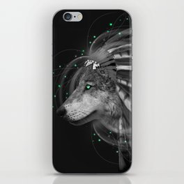 Don't Define the World (Chief of Dreams: Wolf) Tribe Series iPhone Skin