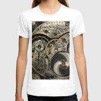 clockwork T-shirts featuring Clockwork Homage by DebS Digs Photo Art