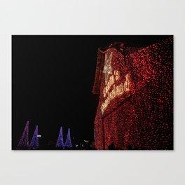 Santa's Wonderland-College Station Canvas Print