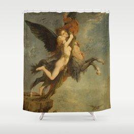 "Gustave Moreau ""The Chimera (La Chimère)"" Shower Curtain"