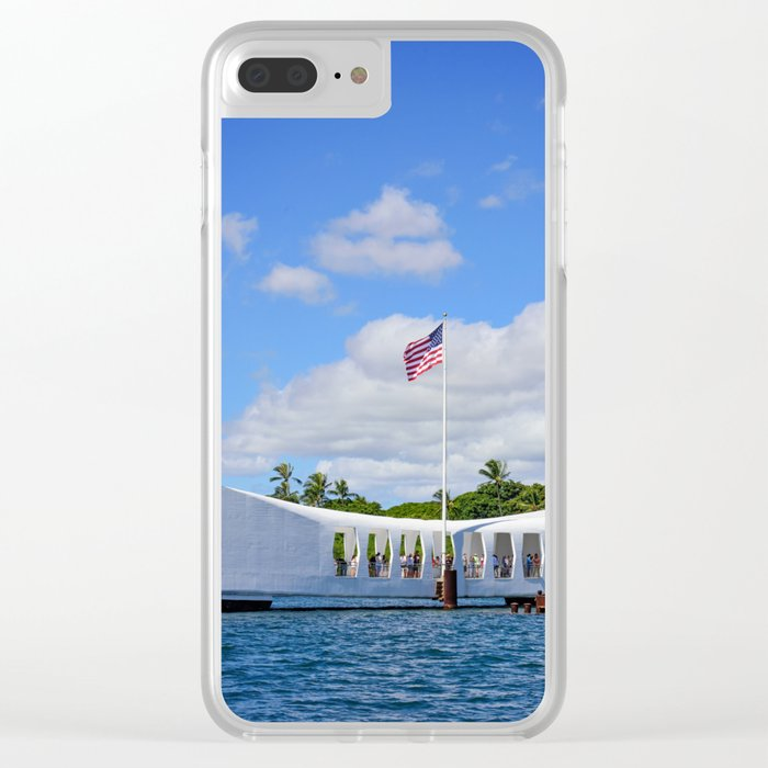Perl Harbor Clear iPhone Case