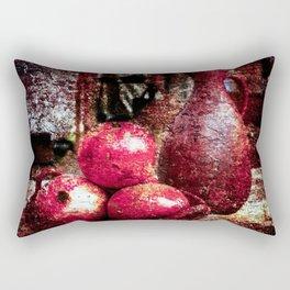 Pomegranates And A Pitcher Rectangular Pillow