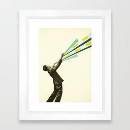The Power of Magic Framed Art Print