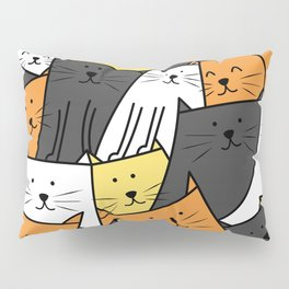 The Cats are Watching Pillow Sham