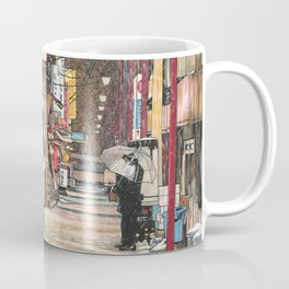 Lights in the Snow Coffee Mug