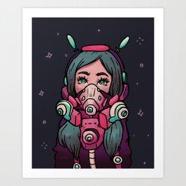 Space Brains Art Print