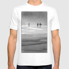 Surfing South Africa Mens Fitted Tee White MEDIUM