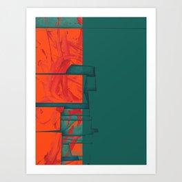 Titan - Cronos Art Print