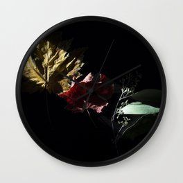Slice of Sun: Autumn Wall Clock