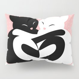 Balanced Feline Love Pillow Sham