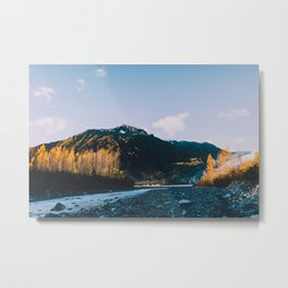 Autumn in Kenai Fjords National Park IV Metal Print