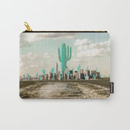 Cactus meets NYC 001 Carry-All Pouch