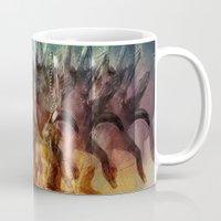 antlers Mugs featuring Antlers by KesuOriesok