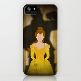 Shadow Collection, Series 1 - Rose iPhone Case