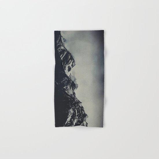 Misty dark Mountains Hand & Bath Towel