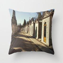 Cemiterio dos Prazeres, 2 Throw Pillow