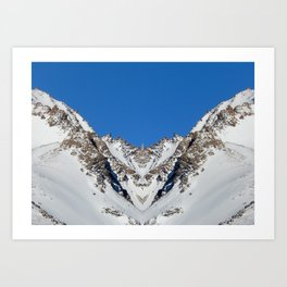 Somewhere in Patagonia, Mountain Nation Art Print