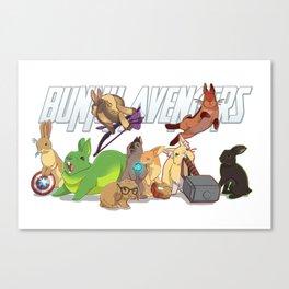 bunny 'vengers Canvas Print