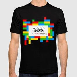 CSS Pun - Lego T-shirt