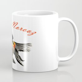 Happy Norooz Demekin Goldfish Persian New Year Coffee Mug
