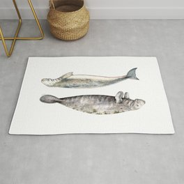 Sea cows: Manatee and Dugong Rug