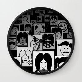 SF Guess Who? Wall Clock