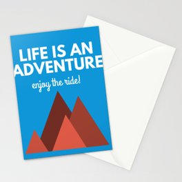 Adventure Mountain Stationery Cards