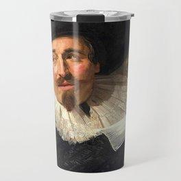 "Frans Hals ""Portrait of Isaac Abrahamsz"" Travel Mug"