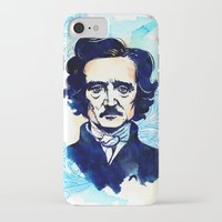 poe iPhone & iPod Cases featuring POE by Jon Cain
