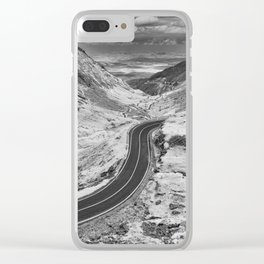Transfagarasan #6 Clear iPhone Case