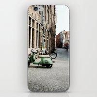 motorbike iPhone & iPod Skins featuring Motorbike by AU Designs Studio