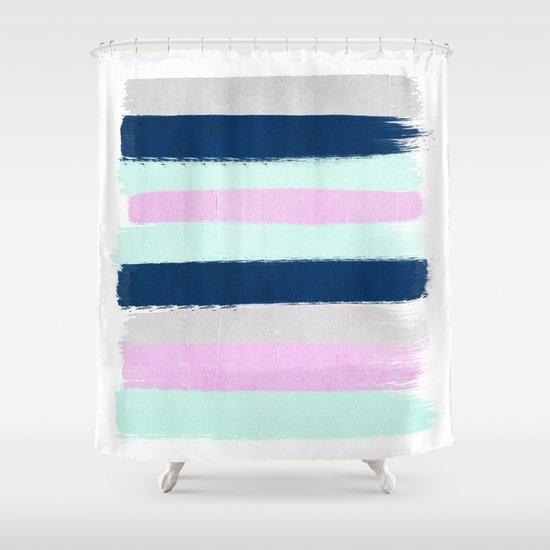 Minimal Painted Stripes Pattern Bright Happy Gender