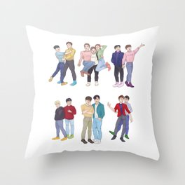 Our Thirteen Throw Pillow