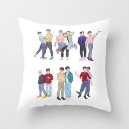 Our Thirteen Throw Pillow