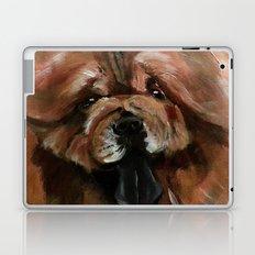 Chow dog portrait Laptop & iPad Skin