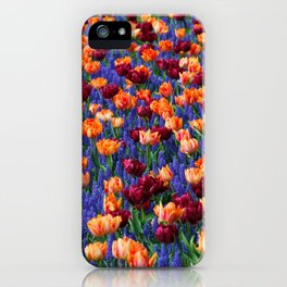 Flowerbed Medley iPhone Case