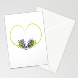 Valentine Agapanthus Stationery Cards