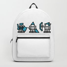 Warrior, Wizard, Archer Game Classes Backpack
