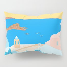 In Greece Pillow Sham