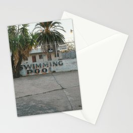 Copper Motel Swimming Pool Stationery Cards