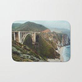 Bixby Bridge | Big Sur California Highway Ocean Coastal Travel Photography Bath Mat